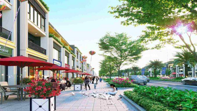 Gem Sky World - Thiết kế Shophouse