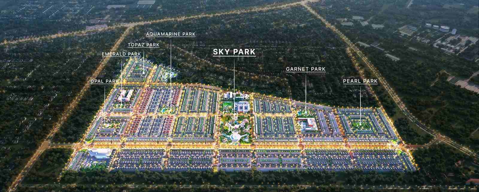 Gem Sky World - Tổng thể toàn dự án