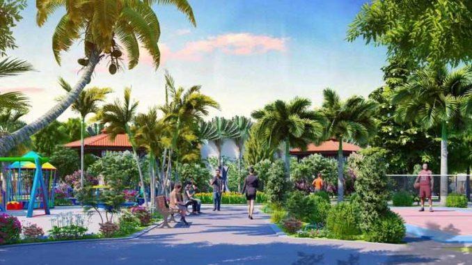 Nam An New City Lai Uyên, Bàu Bàng, Bình Dương - Công viên