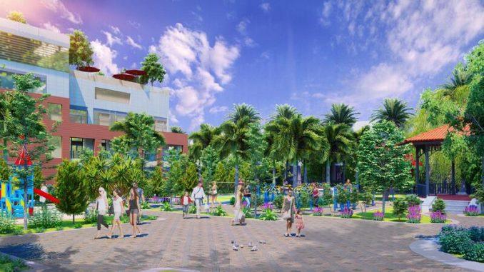 Nam An New City Lai Uyên, Bàu Bàng, Bình Dương - Khuôn viên (1)