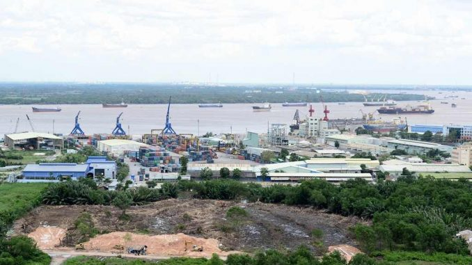 Saigon Peninsula Đào Trí Phú Thuận Quận 7 - hình thực tế