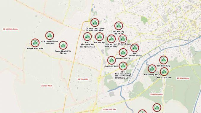 The Green Village Khang Điền Bình Chánh - Kết nối
