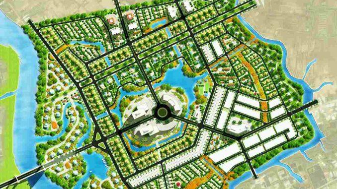 The Green Village Khang Điền Bình Chánh - Tổng thể