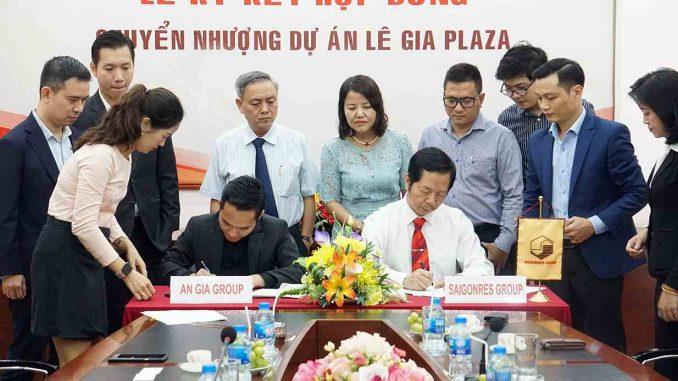 The Standard Tân Uyên Bình Dương - Ký kết mua dự án Lê Gia Plaza