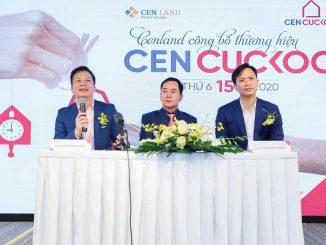 Đại điện CenGroup tham dự Q & A về việc ra mắt thương hiệu Cen Cuckoo