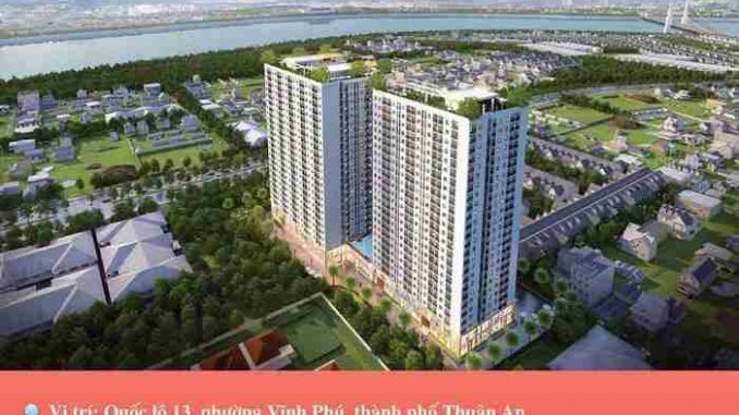 TOP #9 dự án căn hộ tại Bình Dương có giá dưới 25 triệu/m2 năm 2020