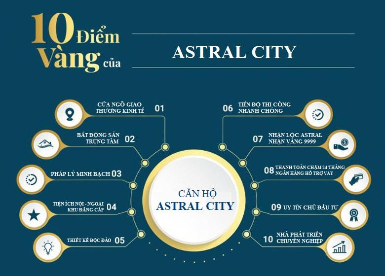 Astral City - 10 ưu điểm