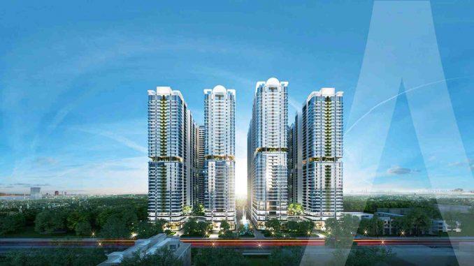 Astral City Phát Đạt - Mô hình dự án căn hộ