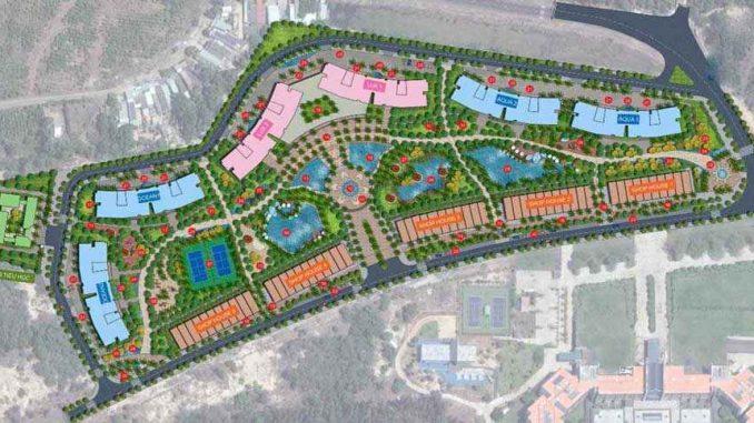 Hồ Tràm Complex Vũng Tàu – Dự án căn hộ chung cư – Mặt bằng