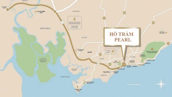 Hồ Tràm Complex Vũng Tàu – Dự án căn hộ chung cư – Vị trí