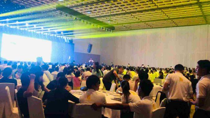Hơn 450 khách hàng, cùng các sales tham dự án buổi lễ ra mắt Tecco Home An Phú
