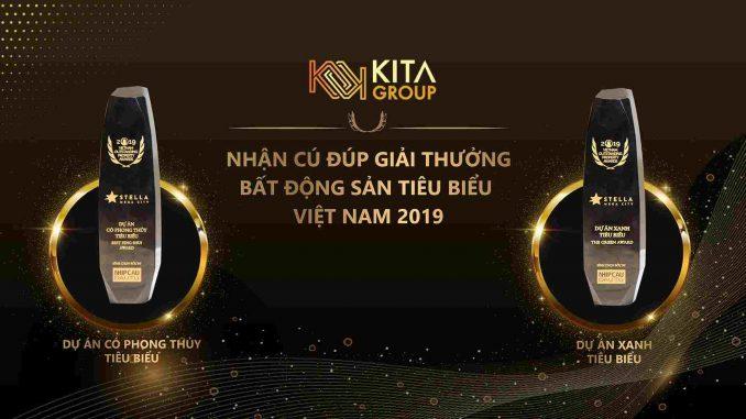KITA Group - Cú đúp giải thưởng năm 2019