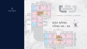 LDG SKY - Block C - Mặt bằng Tầng 6 - 29