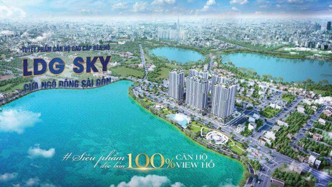 LDG Sky - Siêu phẩm độc bản 100 Căn hộ view hồ