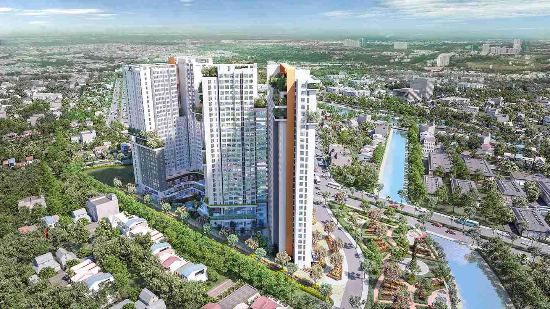 Aster Garden Towers Quốc Lộ 13, Lái Thiêu, Thuận an, Bình Dương