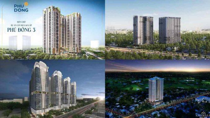 Danh sách dự án căn hộ chung cư cao cấp Bình Dương năm 2020 - 2021