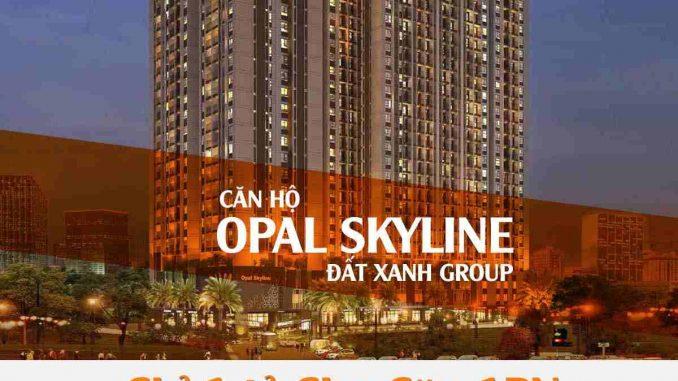 Opal Skyline - Banner dọc-compresse