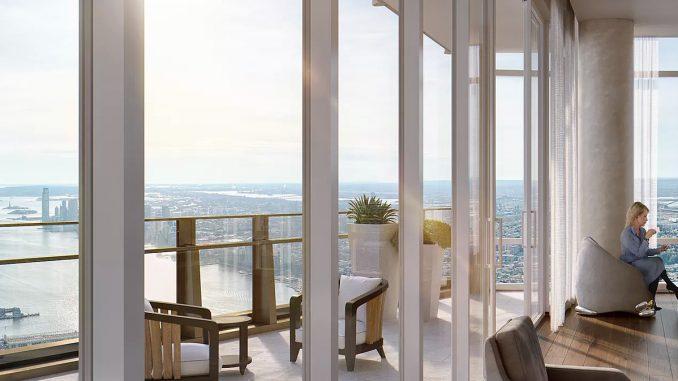 Căn penthouse tòa nhà 35 Hudson Yards đang được rao giá 59 triệu USD, sở hữu tầm nhìn toàn cảnh sông Hudson, Công viên Trung tâm (Central Park) và khu tài chính Manhattan