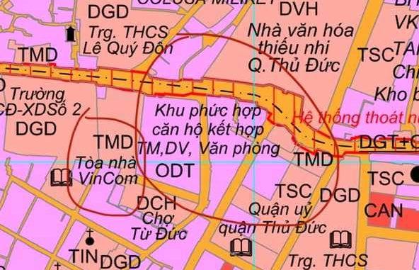 G-Tower 218 Võ Văn Ngân - Vi trí khu đấtG-Tower 218 Võ Văn Ngân - Vi trí khu đất