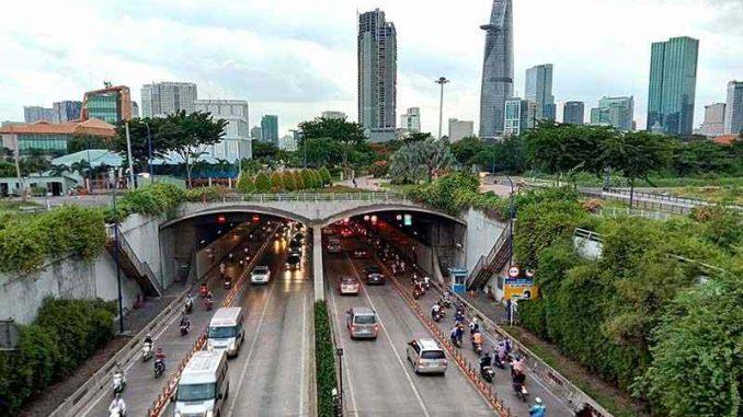 Hầm Thủ Thiêm – Đại lộ Mai Chí Thọ