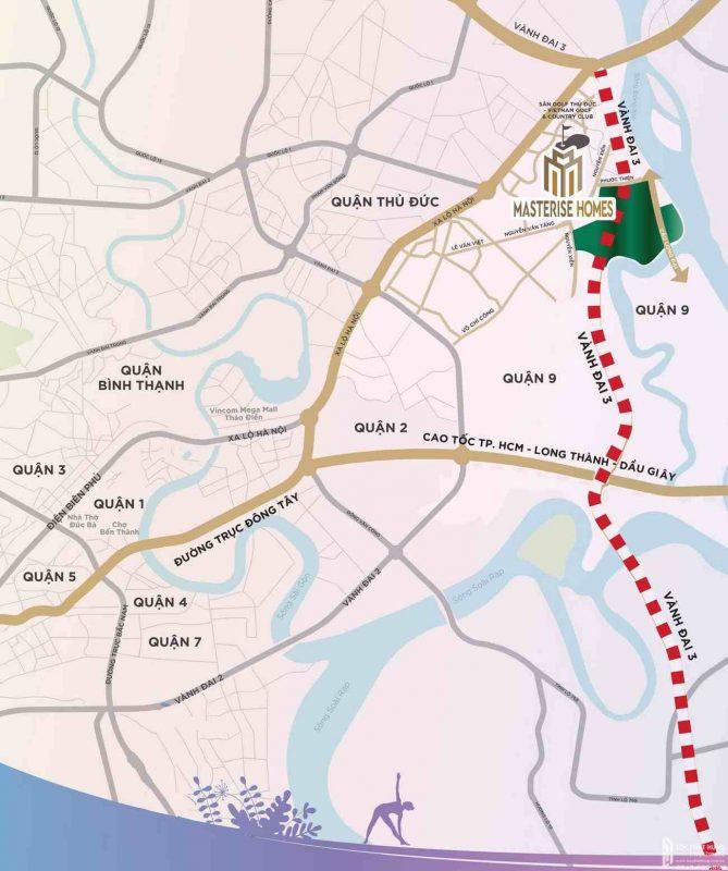 Khu đô thị Vinhomes Grand Park và Masteri Centre Point hưởng lợi về hạ tầng