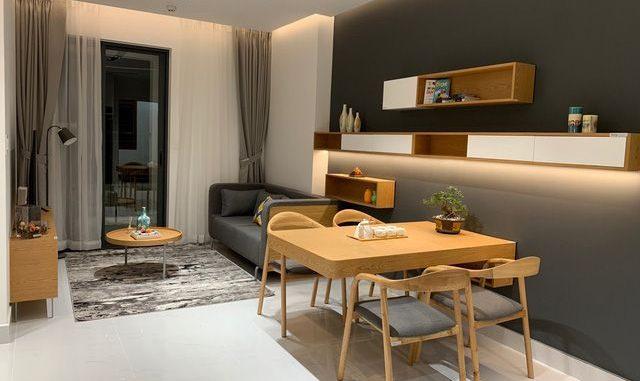 Thiết kế ấn tượng của căn hộ 3 phòng ngủ tại Phuc Dat Tower