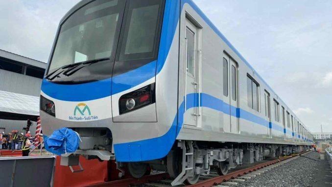 Tuyến Metro Bến Thành - Suối Tiên đã về