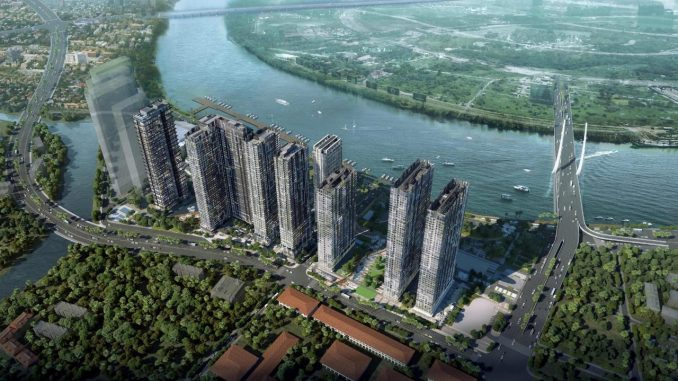 Grand Marina Saigon Bason - phối cảnh đẹp
