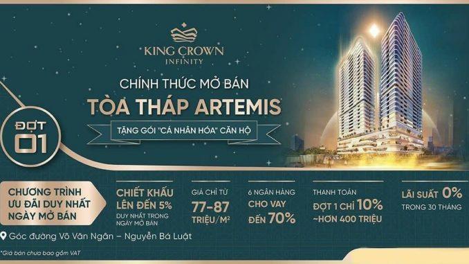 King Crown Infinity - lễ giới thiệu căn hộ