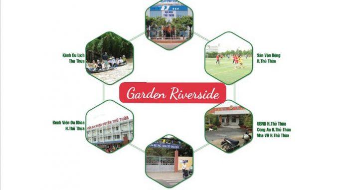Garden Riverside Thủ Thừa Long An - Ngoại khu