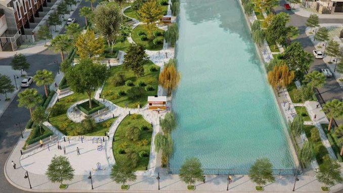 Garden Riverside Thủ Thừa Long An - Tiện ích