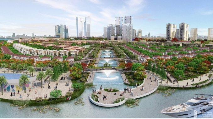 Sài Gòn Bình An - Dự án khu đô thị - phối cảnh