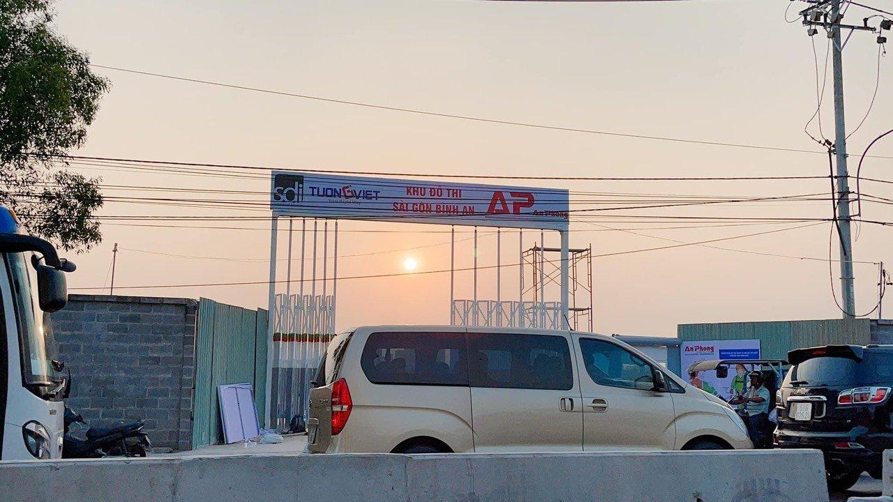 Sài Gòn Bình An - Dự án khu đô thị tiến độ