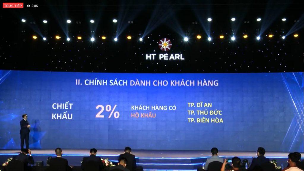 HT Pearl - Chính sách cho khách hàng