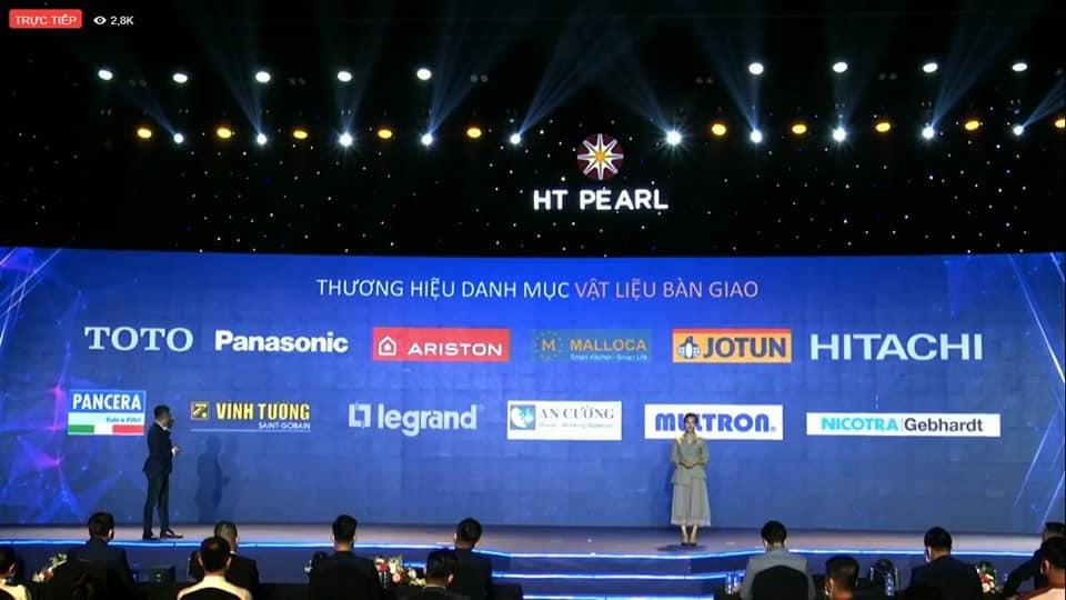 HT Pearl - Vật liệu bàn giao