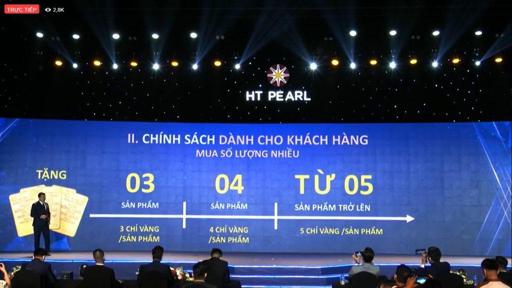 Ht Pearl - chính sách cho khách hàng mua nhiều
