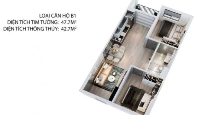 Tecco Felice Homes Thuận an - 3D2