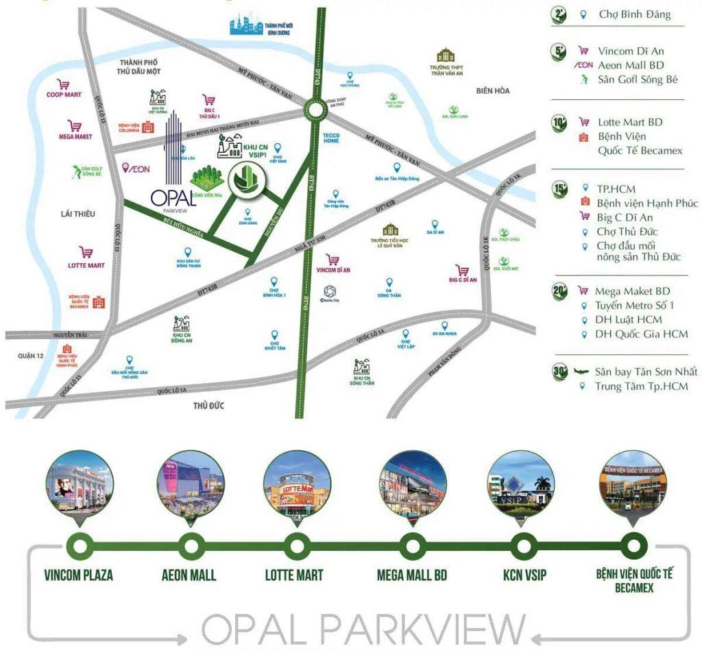 Opal ParkView - Vị trí