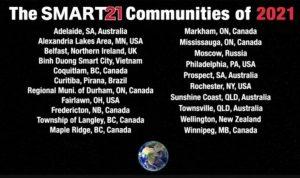 Smart21 - Đại diện Việt Nam, Bình Dương tiếp tục là thành phố thông minh tiêu biểu Thế Giới