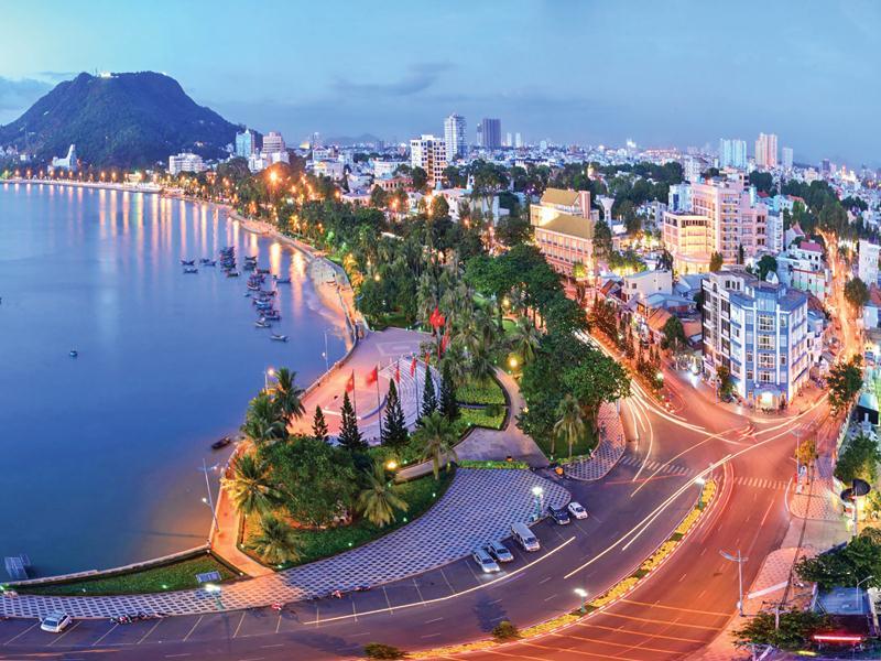 3 Thành phố trực thuộc Tỉnh là Đô thị loại 1 tại vùng Đông Nam Bộ | Thủ Dầu Một, Biên Hòa, Vũng Tàu )1