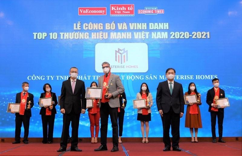 Masterise Homes vào Top 10 Thương hiệu Mạnh Việt Nam 2021