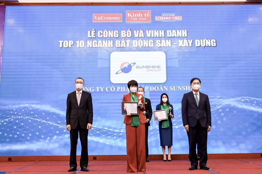 Vinh danh Sunshine Group - Top 10 Thương hiệu Mạnh Việt Nam ngành Bất động sản - Xây dựng