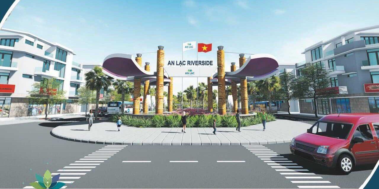 An Lạc Tân - An Lạc Riverside Bình Chánh - Cổng chào dự án-compressed