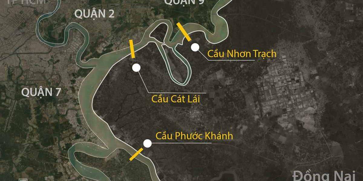 Ba dự án cầu nối TP HCM với Đồng Nai