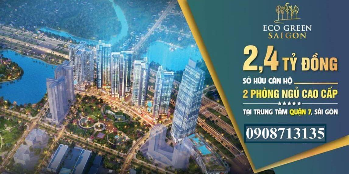 Banner dự án căn hộ Eco Green Sài Gòn Quận 7