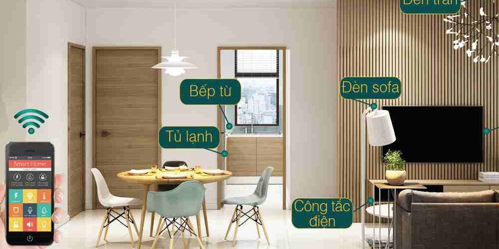 Căn hộ thông minh - Hệ thống điều khiển tiện ích căn hộ trên ứng dụng di động