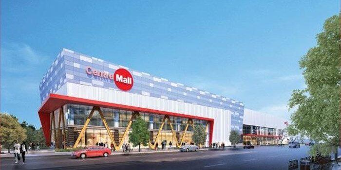 Centre Mall Củ Chi đang được xây dựng