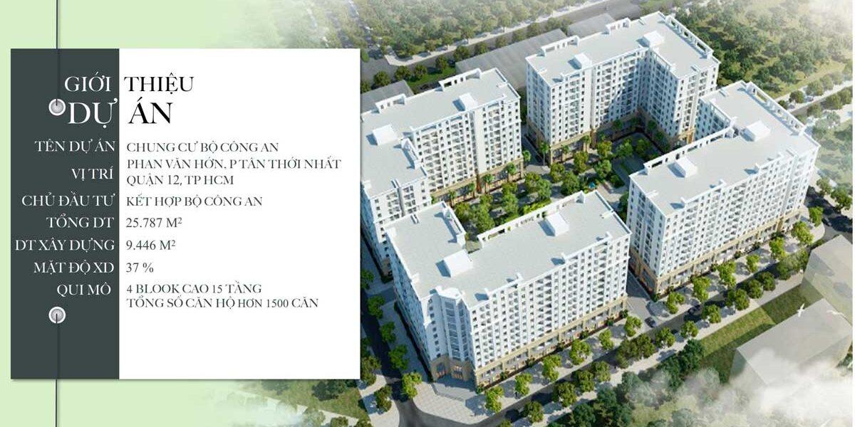 Chung cư Lê Minh ( chung cư bộ công an ) Quận 12