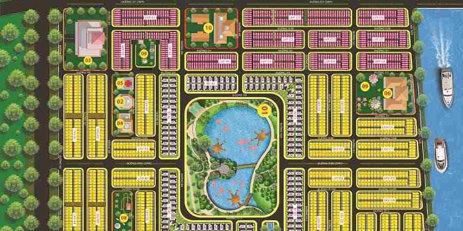 Daresco Đức Hoà Long An - Tổng quan dự án đất nền khu dân cư