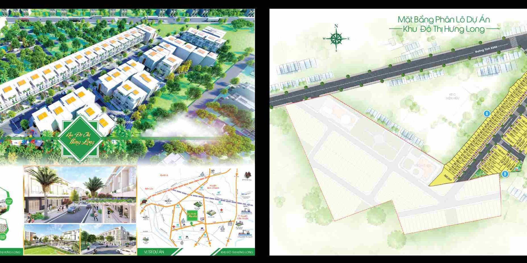 Dự án đất nền khu đô thị Hưng Long Garden Cần Đước Long An